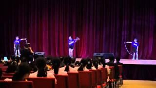 佛教聯合會聯校畢業禮2015-花式跳繩表演
