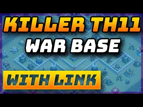 BEST NEW TH11 War Base 2019 *WITH LINK* Anti 3 Star - CWL