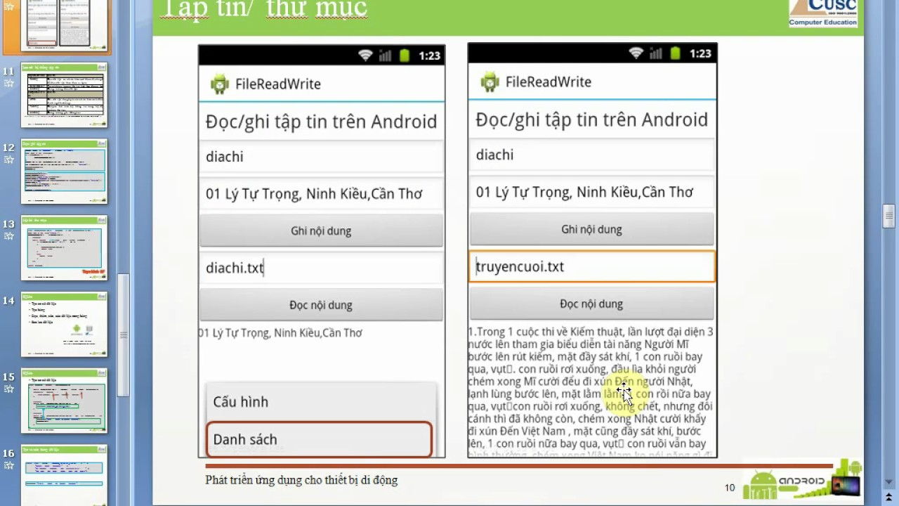 how to write android program in android studio