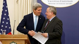 US wants to help Greece emerge from economic crisis, says Kerry