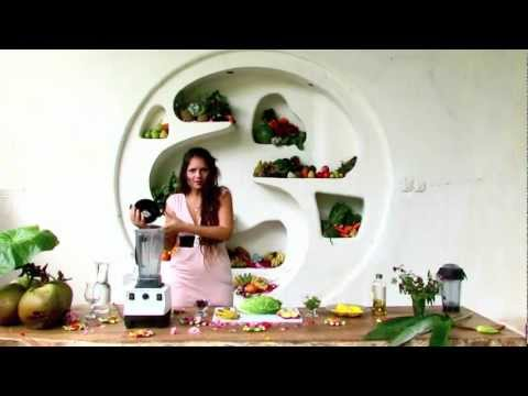 MANGO - MINZE GRÜNER SMOOTHIE - REZEPT für DICH. Präsentiert von LAILA S LOVE FOOD