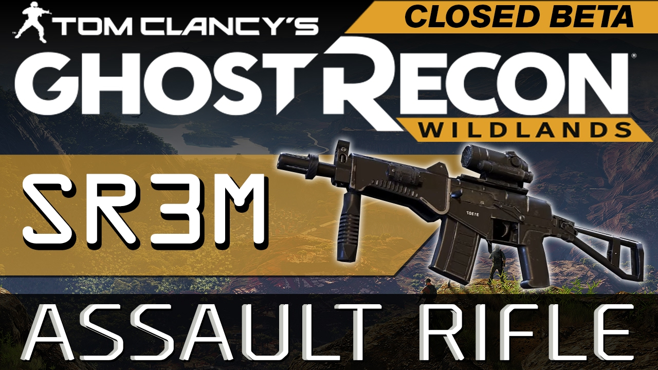 ghost recon wildlands how to get sr3m