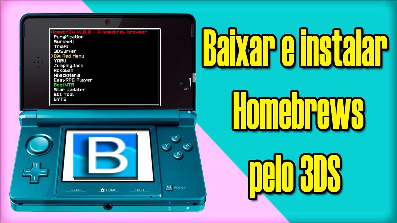 Homebrew Browser 3ds