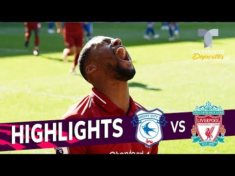 Cardiff City Vs. Liverpool: 0-2 Goals & Highlights | Premier League | Telemundo Deportes