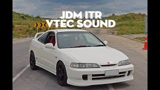 JDM DC2 Integra Type R pull *VTEC SOUND*