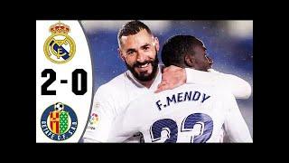 Реал Мадрид Хетафе 2 0 Обзор Матча Чемпионата Испании 09 02 2021 HD