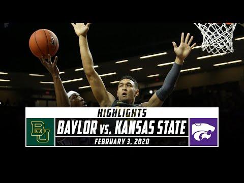 No. 1 Baylor Vs. Kansas State Basketball Highlights (2019-20) | Stadium