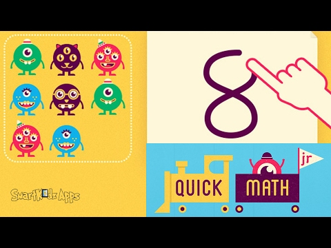 Quick Math Jr. By Shiny Things - Best Math Learning app for preschool, Elementary