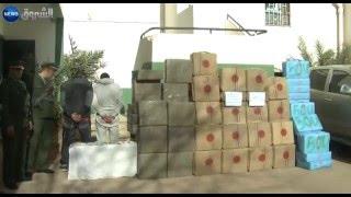 النعامة: درك المشرية يحتجز أكثر من 18 قنطار كيف معالج