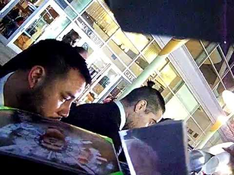 Colin Farrell signs autographs for fans @ Dead Man Down premiere 2/26/2013