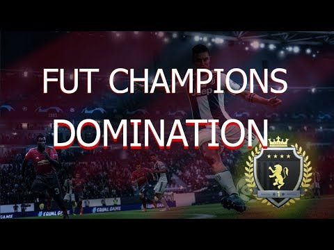 FIFA 19 FUT CHAMPS DOMINATION W/ THE NEW TEAM ( BACK TO BACK 27s )