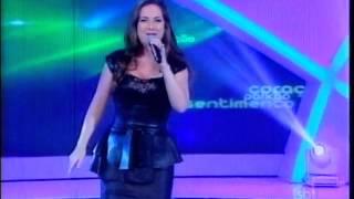 """Raul Gil - Lauriete canta """"Estou nas Mãos de Deus"""""""