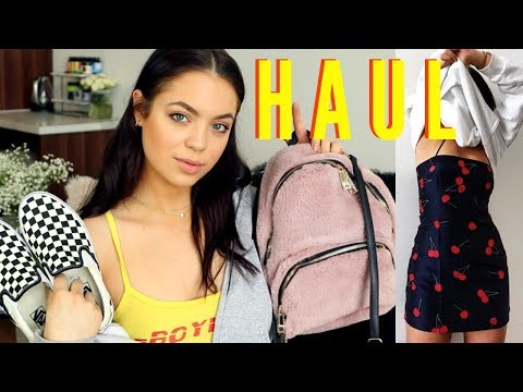HUGE TRY-ON HAUL: Affordable & High End Fashion