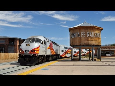 New Mexico Passenger Trains: Rail Runner, Amtrak, and Santa Fe Southern