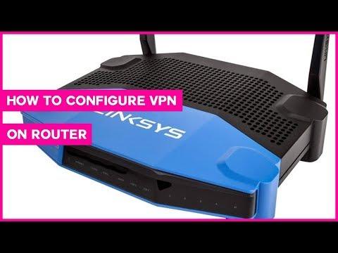 Home router VPN Setup