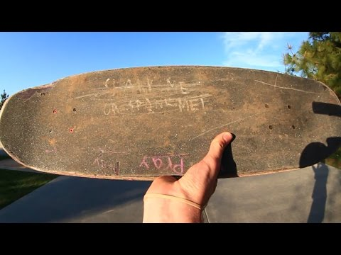 DIRTIEST GRIPTAPE AT THE SKATEPARK