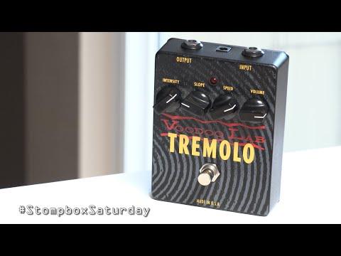 Stompbox Saturday No.62 : Voodoo Lab Tremolo (Demo & Review)