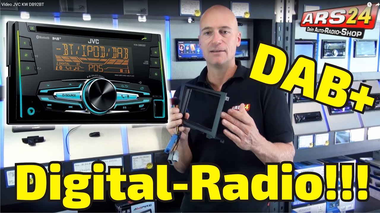 jvc kw db 92 bt review doppel din radio mit dab. Black Bedroom Furniture Sets. Home Design Ideas