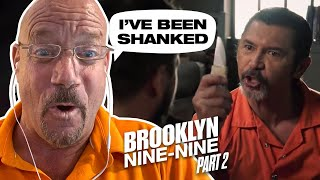 Ex-Con Reacts #2 - Brooklyn 99 Going to Prison - It's a Brooklyn Nine Nine Reaction Video! | 126 |