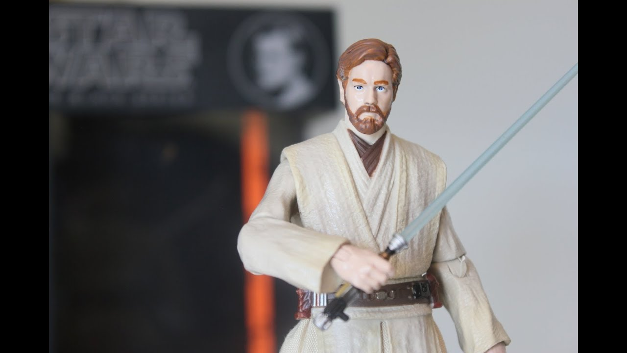Star Wars Black Series Obi Wan Kenobi 6 Inch Figure Review Youtube