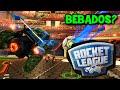 JOGANDO BÊBADOS?! xD BRASIL X ALEMANHA!! :O - Rocket League