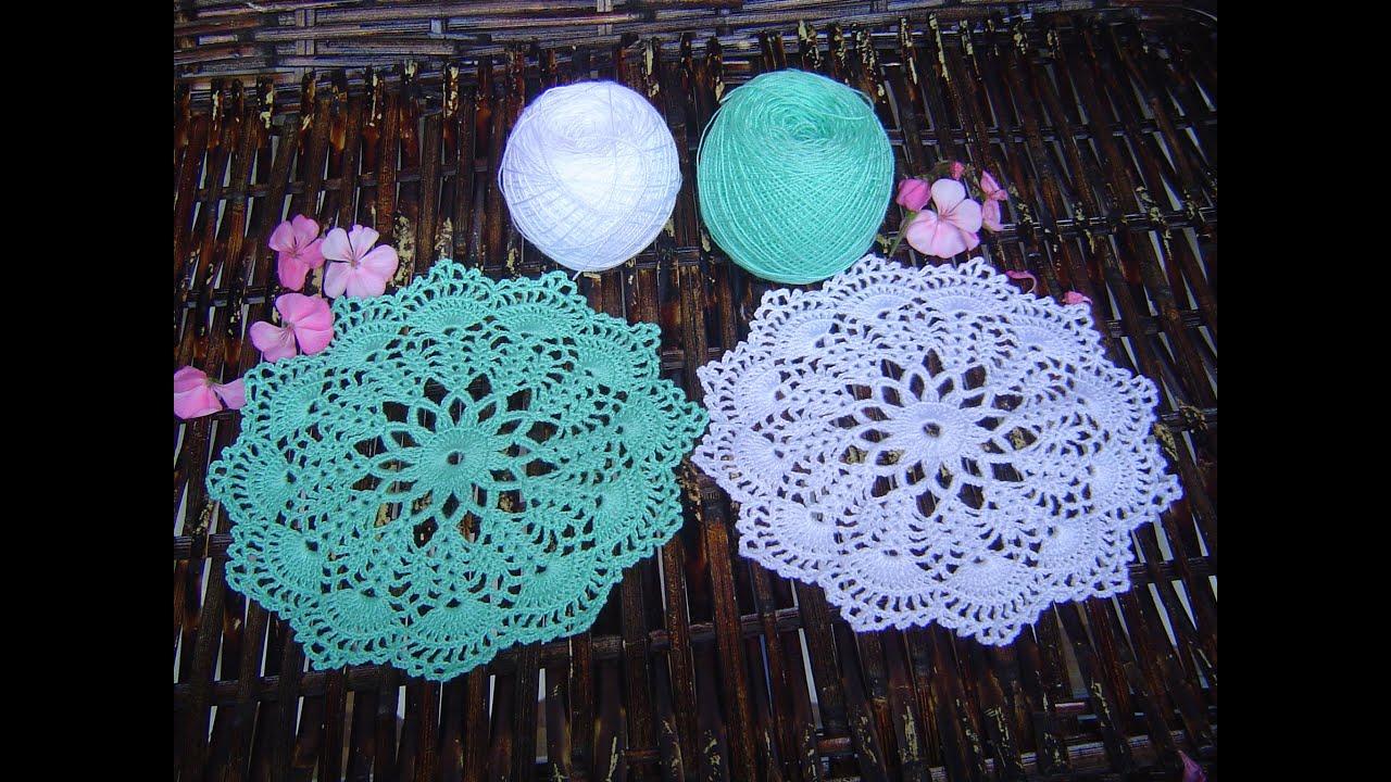 Como hacer tapete,carpeta a crochet Paso a Paso - YouTube