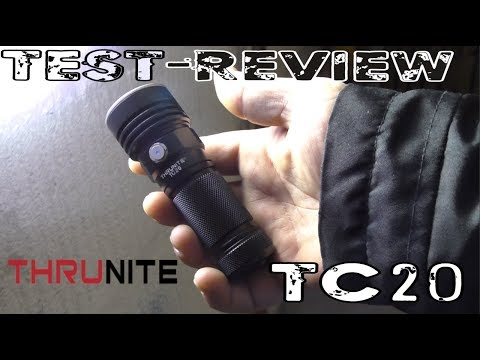 ThruNite® TC20 3800 Lumen! Test-Review Teil 2/2 | HD+ | Deutsch