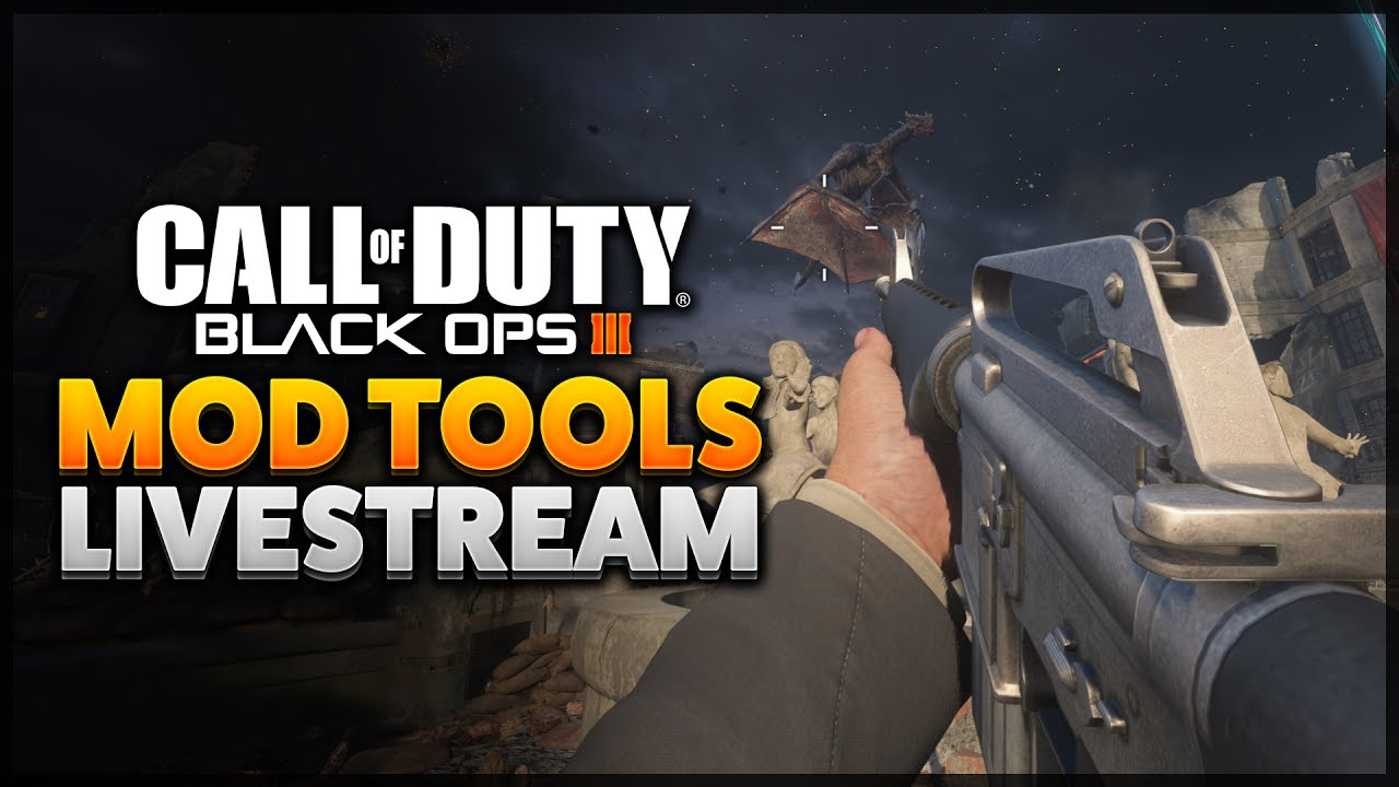 Black Ops 3: Mod Tools - Porting View Arms/Hands & Weapons LIVE #2 (BO3  Modding)