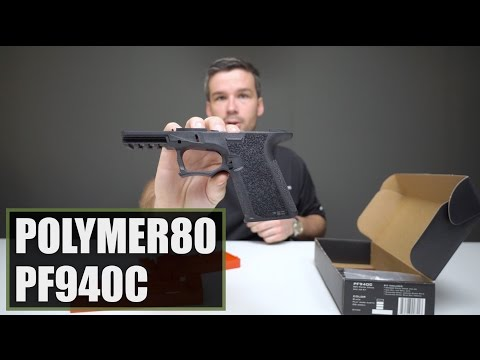 Unboxing The Polymer80 PF940C 80% Lower Frame - YouTube