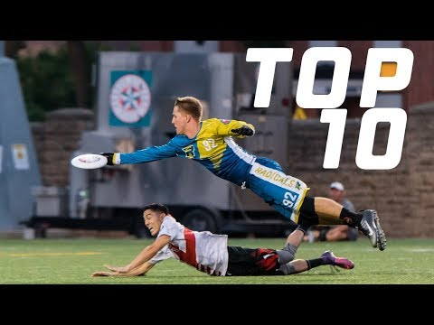 2018 Top 10 Plays: AUDL Championship Weekend