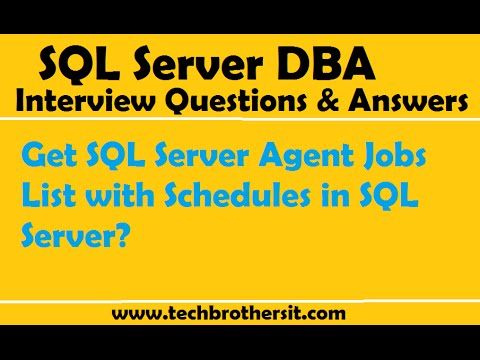 Create and run jobs for sql server on linux sql server.