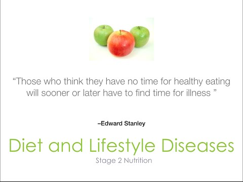 Introduction to Diet & Lifestyle Diseases