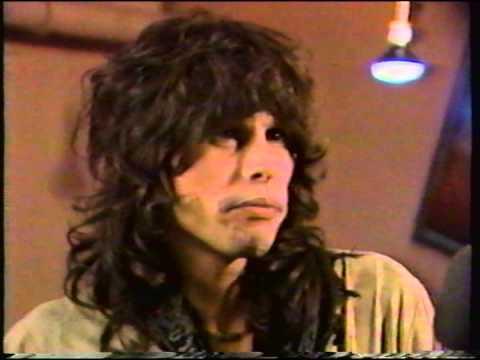Steven Tyler MTV interview (1985)