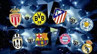 Les buts des quarts de finale aller de la ligue des champions