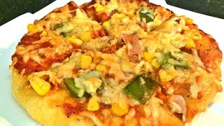 Vegetable Cheese Pizza Recipe
