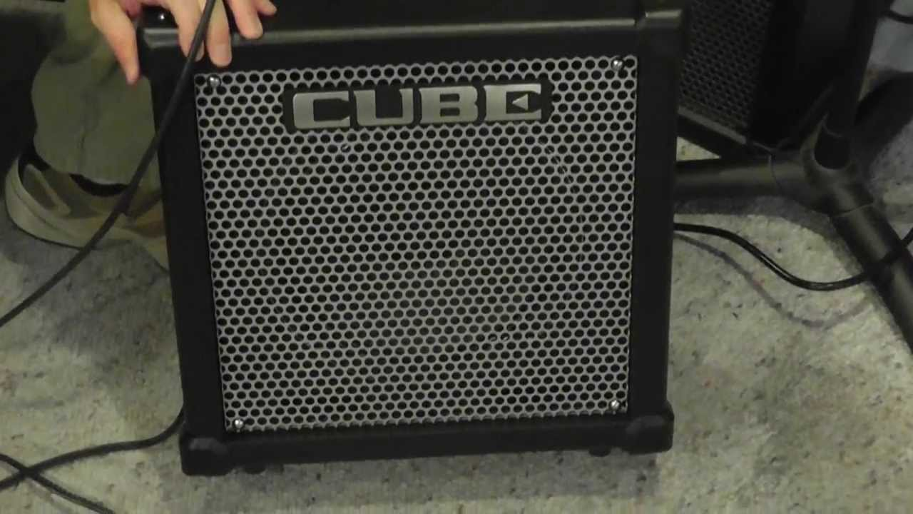 roland cube 40gx pro guitar amplifier youtube. Black Bedroom Furniture Sets. Home Design Ideas