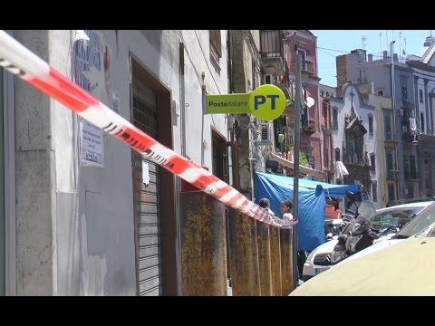 Napoli - Banda del buco rapina le Poste: bottino da 120mila euro (01.07.15)