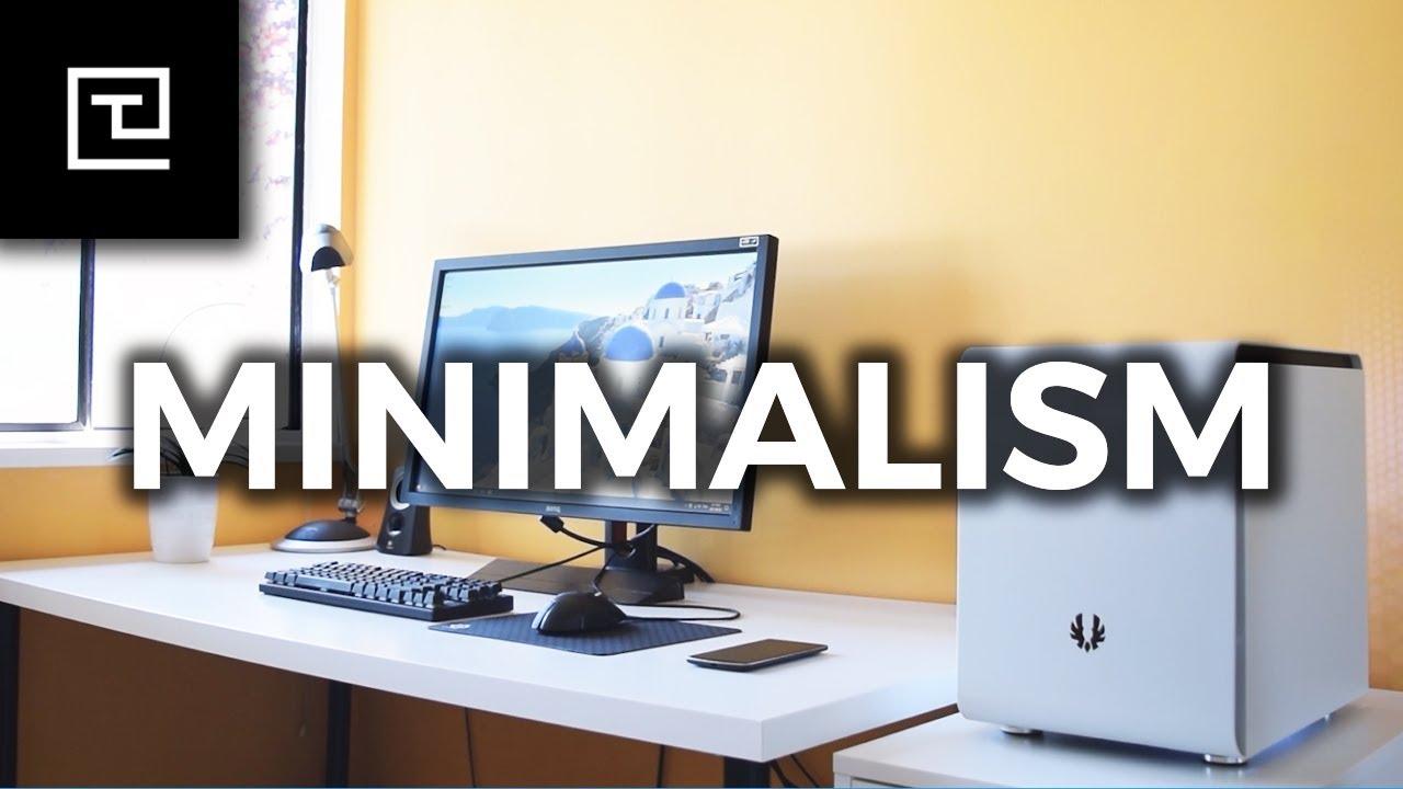 A Minimalist S Gaming Setup Youtube