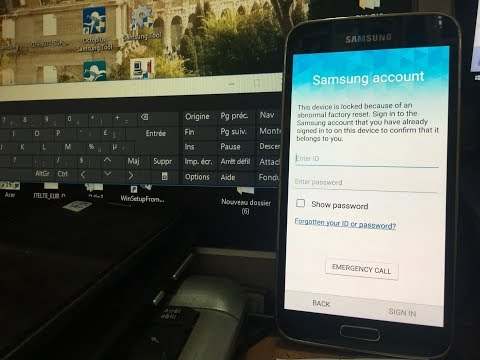 new method 2017 - Bypass samsung account Protection on Android on All  Samsung s5  g900F 6 0 1