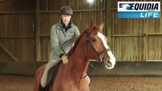 Décontracter son cheval au pas avec Odile Van Doorn