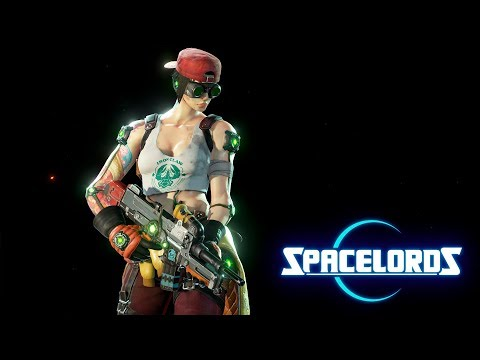 "Spacelords - New F-5 ""Barrier"" and Space Mechanic Skin for Mikah"