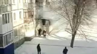 Пожар в Ульяновске на улице Станкостроителей