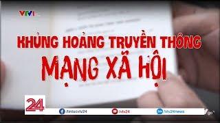Khủng hoảng truyền thông mạng xã hội | VTV24