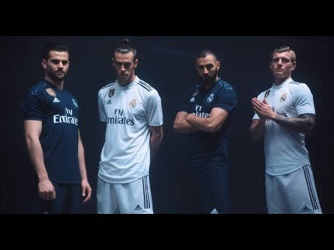 acfee8eec89 Resmi Official Jersey Real Madrid Home   Away 2018 2019 - YouTube
