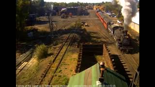 9/7/2018 Train 216 departs Chama, NM with 7 cars