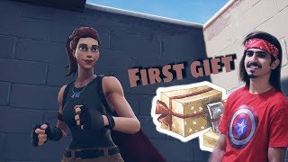 Who gift me OMG! DWORD FIGHT fortnite Battle Royale