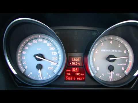 Bmw Z4 Sdrive 35is Brutal Acceleration Full Revs Sound