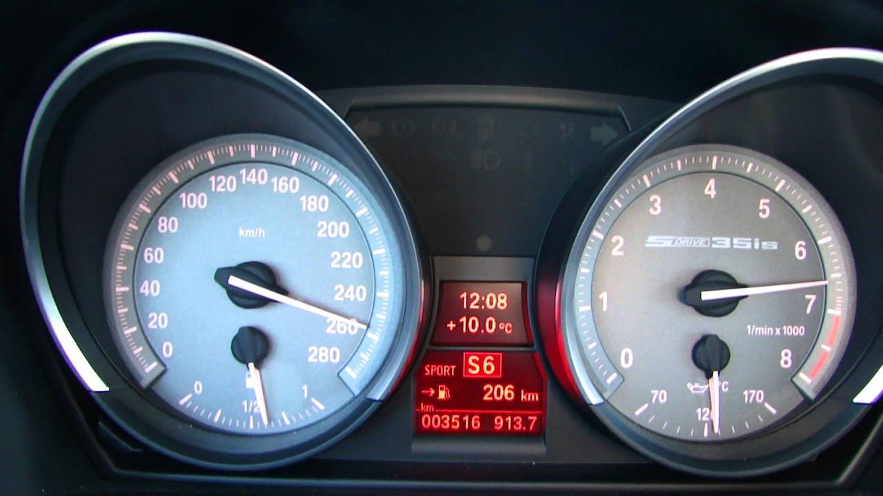 Bmw Z4 Sdrive 35is E89 Dkg 0 262 Km H Acceleration V Max Youtube