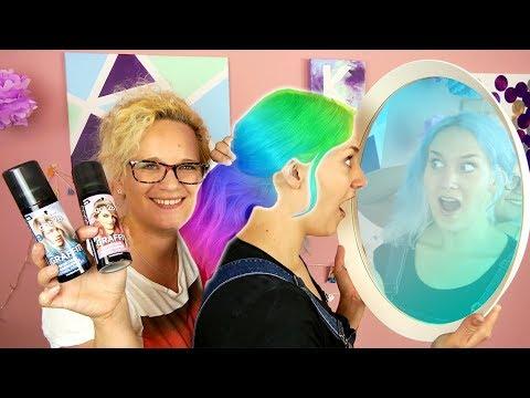 ÜBERRASCHUNGS FARBE - NINAS NEUE HAARE   Eva färbt Haare WIE SIE WILL   Got2Be Graffity Haarfarbe