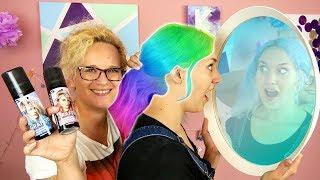 ÜBERRASCHUNGS FARBE - NINAS NEUE HAARE | Eva färbt Haare WIE SIE WILL | Got2Be Graffity Haarfarbe